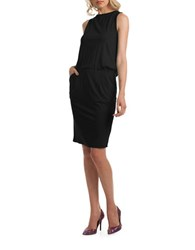 Trina Turk Delight Sleeveless Jersey Dress Black