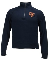 '47 Brand Men's Chicago Bears Cross Check Quarter Zip Pullover