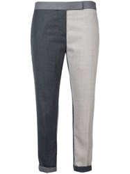 Thom Browne Fun Mix Skinny Trouser Grey