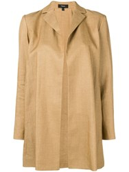 Theory Oversized Fit Jacket Neutrals