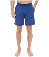 The North Face Belted Guide Trunks Limoges Blue Prior Season Shorts
