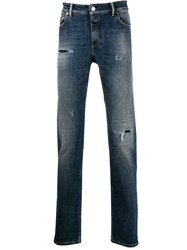 Closed Distressed Straight Leg Jeans 60