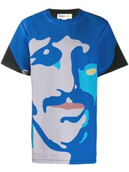 Stella Mccartney All Together Now Ringo Starr T Shirt Blue