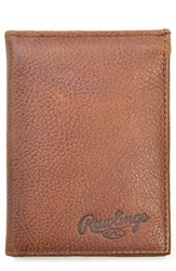 Rawlings Sports Accessories Men's Triple Play Leather L Fold Wallet