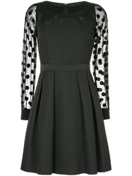 Guild Prime Polka Dot Detail Dress Polyester Black