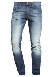 Lee Luke Slim Fit Jeans Steep Green Dark Blue Denim