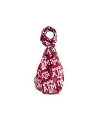 Forever Collectibles Texas A And M Aggies All Over Logo Infinity Scarf Red