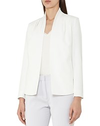 Reiss Sancia Pleated Shoulder Jacket Off White