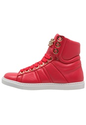 Elisabetta Franchi Hightop Trainers Lampone Red