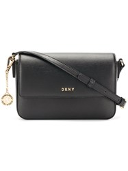 Dkny Bryant Flap Cross Body Bag Black