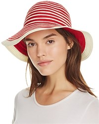 Barbour Sealand Sun Hat Red Beige