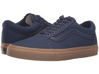 Vans Old Skool X Gum Pack Canvas Gum Eclipse Light Gum Skate Shoes Blue