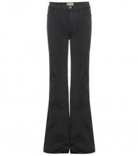 Current Elliott The Girl Crush Flared Jeans Black