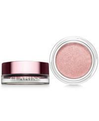 Clarins Ombre Iridescent Cream To Powder Eye Shadow Silver Rose