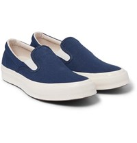 Converse Deck Star 70 Canvas Slip On Sneakers Navy