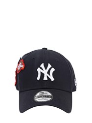 New Era Cooperstown Patched 9Forty Baseball Hat Navy