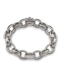 18K White Gold Marilyn Link Bracelet Monica Rich Kosann White Gold