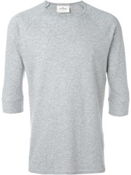 The White Briefs 'Anchovy' T Shirt Grey
