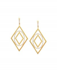 Ivanka Trump Affinity 18K Gold And Diamond Element Statement Earrings