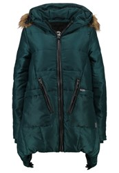 Khujo Munde Winter Coat Pine Petrol