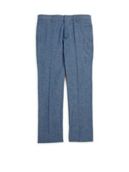 Burberry Little Boy's And Boy's Tuxedo Trousers Stone Blue