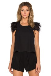 Shakuhachi Feather Down Shell Top Black