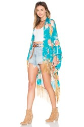 Spell And The Gypsy Collective Jagger Kimono Floral