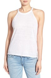 Joe's Jeans Women's Joe's 'Vannie' Linen Tank White