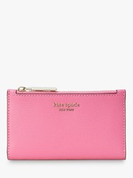 Kate Spade New York Sylvia Small Slim Leather Bi Fold Purse Hibiscus Tea