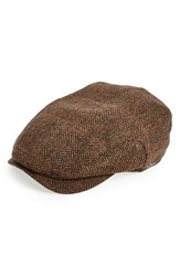 Men's Wigens 'Jacob' Herringbone Driving Cap