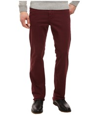 34 Heritage Charisma Classic Fit In Burgundy Twill Inseam Burgundy Twill Men's Casual Pants