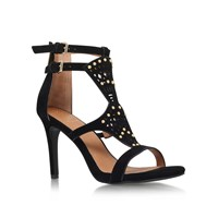 Kurt Geiger Harem High Heel Strappy Sandals Black