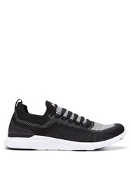 Athletic Propulsion Labs Breeze Techloom Low Top Trainers Black White