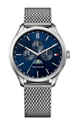 Tommy Hilfiger Th302 Mens Stainless Bracelet Watch Metallic