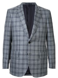 Gieves And Hawkes Formal Plaid Blazer 60