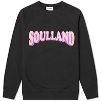 Soulland Hockney Crew Sweat Black
