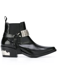 Toga Western Boots Black