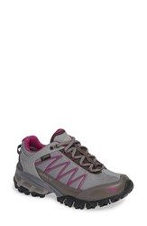 The North Face Ultra 110 Gtx Hiking Shoe Q Silver Grey Aster Purple