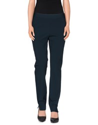 D.Exterior Trousers Casual Trousers Women Deep Jade