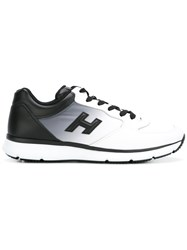Hogan Lateral Patch Sneakers White