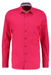Olymp Level 5 Body Fit Shirt Lackrot Red