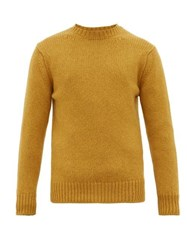 Connolly Knitted Cashmere Sweater Gold