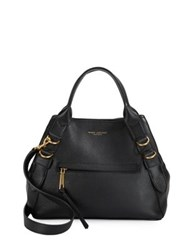 Marc Jacobs The Anchor Satchel Bag Black