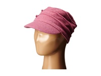 San Diego Hat Company Sdh0518 Wool Cadet With Right Side Flower Dusty Rose Caps Pink