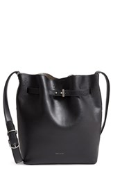 Matt And Nat Lexi Faux Leather Bucket Bag Black Black Cement