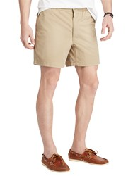 Ralph Lauren Polo Classic Fit Polo Prepster Shorts Boating Khaki