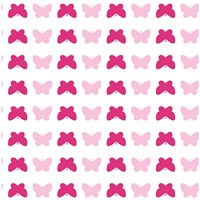 Tempaper Butterfly Removable Wallpaper Pink