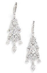 Nadri Women's 'Audrey' Cubic Zirconia Chandelier Earrings