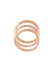 Alice Waese Set Of Stacking Rings Metallic