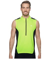 Pearl Izumi Select Quest Sleeveless Jersey Screaming Yellow Black Clothing